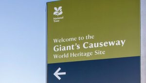 Giants-Casueway-Guide-Entrance-Sign-for-Visitors